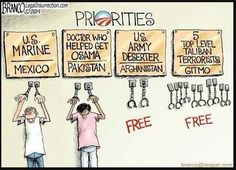 The Obama administrations' priorities perfectly summed up in one image…