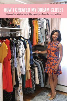 How I made my closet feel like my own personal boutique Closet App, Closet Redo, Wardrobe Closet, Master Closet, Closet Bedroom, Closet Space, Closet Storage, Closet Organization, Capsule Wardrobe