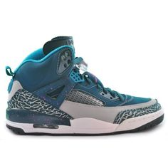 check out b34bb 386c0 Jordan Air Jordan Spizike Mens Lifestyle Shoes (Space Blue Wolf Grey-Tropical  Teal-Fusion Pink) at Shoe Palace