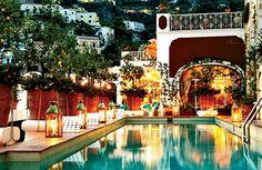 La Sirenuse hotel on Italy's Amalfi Coast