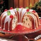 Orange-Cranberry Pound Cake with Vanilla Glaze Recipe | Taste of Home Recipes