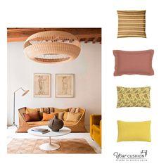 Una idea de textiles para combinar con #mimbre o #rattán : El uso de #terracotas y tonos ocres 🍂🍁. En Your Cushion podrás elegir entre más de 500 telas y formas de cojines para crear tu diseño personalizado.  Atrévete a ir más allá del blanco en tus muebles del mimbre y explora nuevas posibilidades.🌈  #cojinesamedida #Textiles #Cojinesparamuebles #Mueblesmimbre#Muebleratán #Terracota #Ocre #Ideadeco