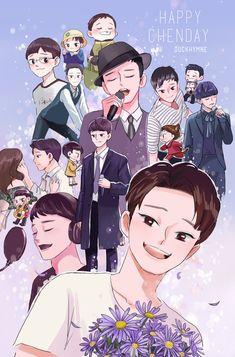#chen  #jongdae  #첸  #종대  #EXO  #HappyChenDay