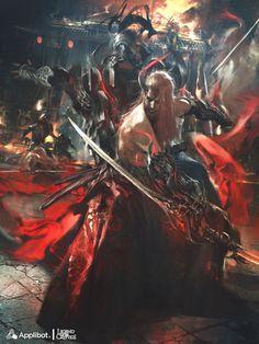ArtStation - Corentin, Carnage Blade - Advanced Version - , Reynan Sanchez