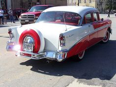 1956 CHEVY BELAIR WITH CONTINENTAL KIT