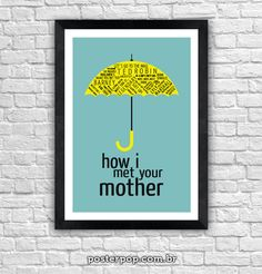 Poster How I Met Your Mother - Quotes