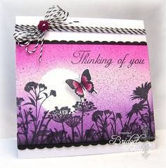 Butterfly Sunset by bfinlay - Cards and Paper Crafts at Splitcoaststampers