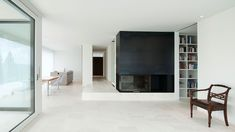 Modern home by Endres Architecture Bauhaus, Modern House Design, My Dream Home, My House, Cube, Bookcase, Shelves, Architecture, Modern Homes