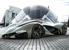 UK Designer Mark Hostler envisions this incredible LaMaserati concept car, based on the LaFerrari platform. The LaMaseraticarries over the same 6.3-liter V12 engine with the kinetic energy recovery system removed to save weight.