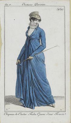 Fashion Plates: 1802-1803   Riding Habit