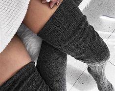 Lace Socks, Cotton Socks, Boot Socks, Slouch Socks, Cotton Leggings, High Socks Outfits, Thigh High Socks Outfit, Thigh High Knit Socks, Long Socks Outfit