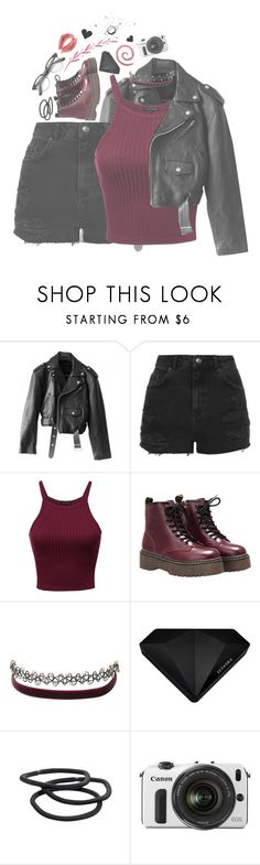 """Untitled #1454"" by thatpvnkkid ❤ liked on Polyvore featuring Jean-Paul Gaultier, Topshop, Charlotte Russe, Sephora Collection, Goody and Eos"