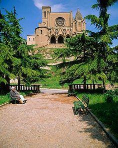 Santa Maria de la Seo (14th & 15th c.) cathedral, Manresa, Barcelona province, Catalunya,