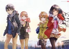 Browse pictures from the anime Masamune-kun no Revenge OVA (Masamune-kun's Revenge OVA) on MyAnimeList, the internet's largest anime database. Bundled with the limited edition volume of the Masamune-kun no Revenge manga. Masamune Kun No Revenge, Manga Anime, Anime Art, Me Me Me Anime, Anime Love, Neko, Adagaki Aki, Anime Group, Anime Shows