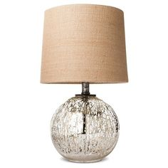 Mercury Glass Globe Accent Lamp (Includes CFL Bulb) - Threshold™ : Target