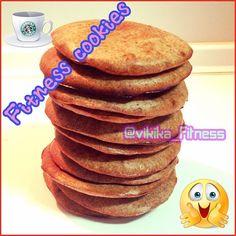 RECETA FITNESS/ Cookies protéicas sabor fresa, plátano y canela