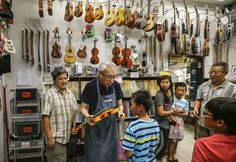 When Monterey Park became more Asian, this music man changed with the times and thrived  Typical of independent music stores, Johnny Thompson Music in Monterey Park is a monument to functional… http://www.latimes.com/local/california/la-me-ln-thompson-music-20160927-snap-story.html