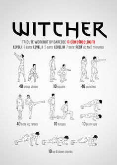 Witcher Tribute Workout