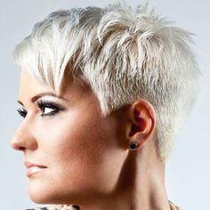 #pixie #blonde #haircut #shorthair #short #h #s #p #shorthaircut #blondehair #b #hair #blondeshavemorefun #platinumhair #blonde