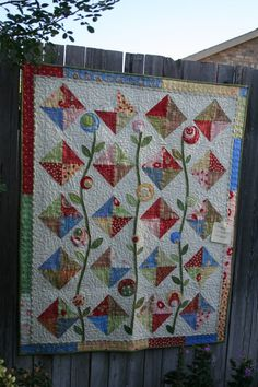 Quilts, fun colors