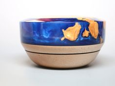 Excited to share the latest addition to my #etsy shop: Handcrafted Elegant Grand Wooden Ring Coin Dish Bowl made of Wood Pearl Navy Blue & Golden Resins Wedding Gift Collectible Home Decor Art https://etsy.me/2qq5Miu #jewelry #blue #lovefriendship #gold #wood #jewelryh