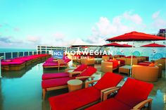 """Take a Caribbean cruise, European cruise, or Transatlantic cruise on our Norwegian Epic Cruise Ship. Voted """"Best Cruise Ship"""" in by Travel Weekly. Biggest Cruise Ship, Best Cruise Ships, Norwegian Epic, Norwegian Cruise Line, Bahamas Cruise, Caribbean Cruise, Bahamas Vacation, Cruise Travel, Cruise Vacation"""