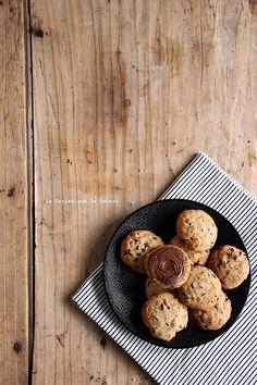 cookies054 cookies au beurre de cacahuète, pépites de chocolat et éclats de…