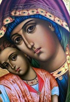 Why then do we speak of our Lady as the advocate of man? Religious Pictures, Jesus Pictures, Religious Icons, Religious Art, Blessed Mother Mary, Blessed Virgin Mary, Church Icon, Jesus E Maria, Spiritual Paintings