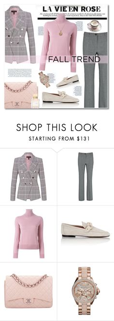 """""""fall jewelry trend : rose gold"""" by limass ❤ liked on Polyvore featuring ESCADA, La Vie en Rose, P.A.R.O.S.H., Isabel Marant, Chanel, Alex Monroe and rosegold"""