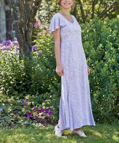 fcd0454309b April Cornell Lavender Sasha Maxi Dress - Plus