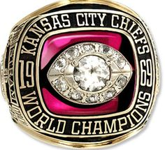 1969 Superbowl ring. Hopefully we will get one in MY lifetime!