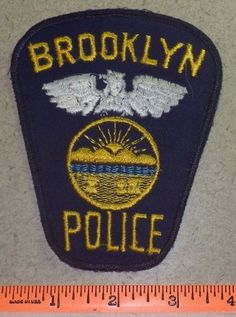 Brooklyn Ohio State of OH Law Enforcement Police Patch - Cuyahoga County