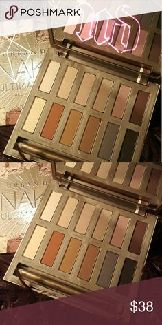 Urban decay Naked Ultimate Basics Palette 12 ALL-NEW, must-have neutrals. These are the matte shades UD junkies keep requesting time and time again. Every single one is not only new, but also exclusive to this palette?and completely different. This UD is New & Unused, lower rt color slightly damaged. Urban Decay Makeup Eyeshadow