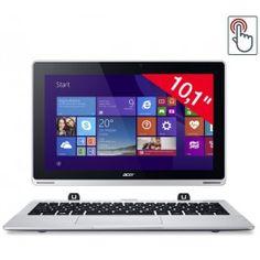 L'Aspire Switch 10 (SW5-012-1438) d'Acer est une tablette qui, grâce à l'adjonction d'un dock clavier, se convertit en un PC ultraportable tactile. Associant la praticité d'une tablette et la productivité d'un ordinateur, ce modèle convient aussi bien au travail qu'au divertissement.Animé par un processeur cadencé à 1,83 GHz, l'Acer Aspire Switch 10 possède 2 Go de mémoire RAM et 32 Go d'espace de stockage eMMC. Vous pouvez également compter sur un lecteur de cartes microSD (jusqu'à 32 Go)…