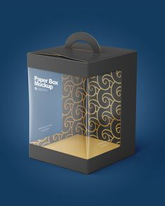 Paper Box Mockup Octopus Box, Cake Boxes Packaging, Cake In A Jar, Carton Box, Box Storage, High Angle, Box Mockup, Paper Paper, Box Cake