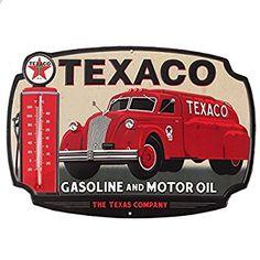 "TEXACO Texas State Fair  Motor Oil Gasoline Retro Metal Tin Sign Plaque 12/"" NEW"