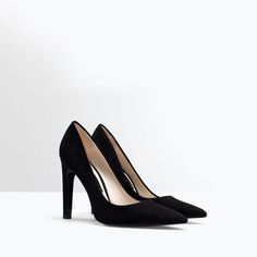 41fc08cf84f7 ZARA - WOMAN - LEATHER COURT SHOE
