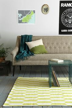 Assembly Home stacked bar rug. #urbanoutfitters