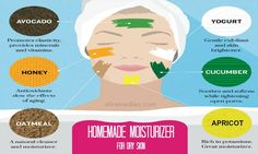 Natural homemade moisturizer for dry skin: 16 solutions