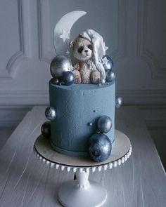 Elena Gnut ✨ зайки с мишками #cake #bear #тортнаденьрождения #moon