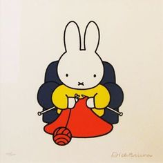"1,573 Me gusta, 36 comentarios - Anna Maltz (@sweaterspotter) en Instagram: ""BYE BYE BRUNA - #DickBruna, the man who brought us Nijntje/Miffy has passed away at 89. What joy,…"""