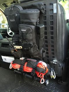 Rigid Insert Panel MOLLE (RIP-M) - x used in vertical orientation b. - Rigid Insert Panel MOLLE (RIP-M) – x used in vertical orientation by a customer. Jeep Jk, Acessórios Jeep Wrangler, Jeep Mods, Truck Mods, Tactical Truck, Tactical Gear, Molle Gear, Accessoires Molle, Edc