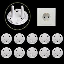 Buy 10pcs Bear EU Power Socket Electrical Outlet Baby Kids Child Safety Guard Protection Anti Electric Shock Plugs Protector Cover at www.babyliscious.com! Free shipping to 185 countries. 21 days money back guarantee. Electrical Safety, Electrical Outlets, Baby Safety, Child Safety, Safe Lock, Electric Shock, Baby Cover, Childproofing, Baby Kind