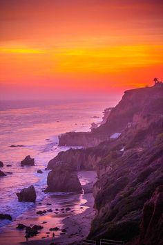 Colors Of A Malibu Sunset