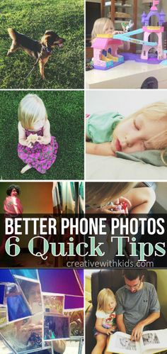 6 ways to improve your pictures today!