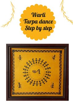 Warli art for beginners. Tarpa dance step by step guide. You can create your own DIY wall decor of Warli art. Wall Clock Painting, Worli Painting, Art Painting Gallery, Newspaper Painting, Diy Wall, Wall Decor, Jamini Roy, Indian Wall Art, Indian Art Gallery