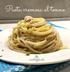 Pasta cremosa al tonno ricetta velocissima