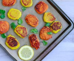 Masala Sweet Potato Bites.  A creative, sweet and savory snack idea that will make you wish you made a double batch.  http://stalkerville.net/ #paleo