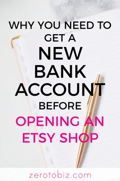 Opening an Etsy shop Here are a few reasons why you ll want to open a separate b. - My Pano - Opening an Etsy shop Here are a few reasons why you ll want to open a separate bank account.