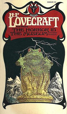 Murray Tinkelman - Cover for H.P Lovecrafts The Horror In The Museum by Aeron Alfrey, via Flickr